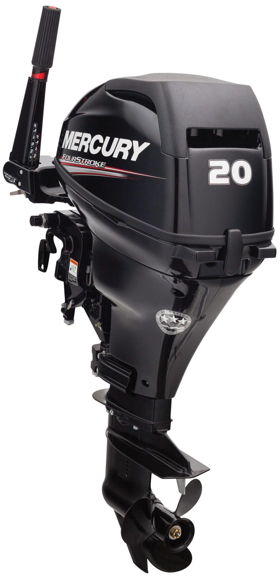 Лодочный мотор Mercury F20 M