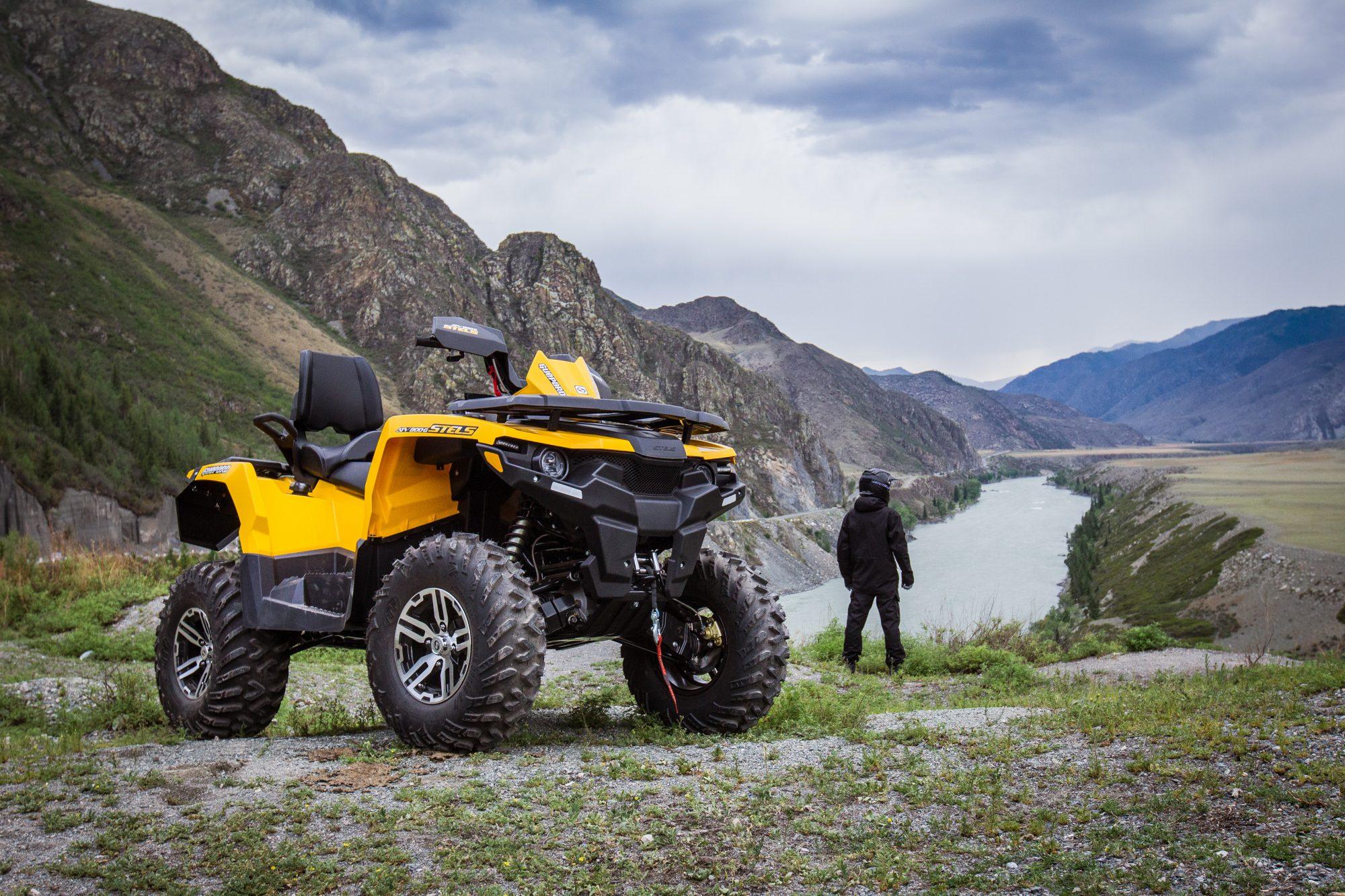 Stels ATV 800G GUEPARD Touring